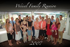 Weisel Family Reunion 2007