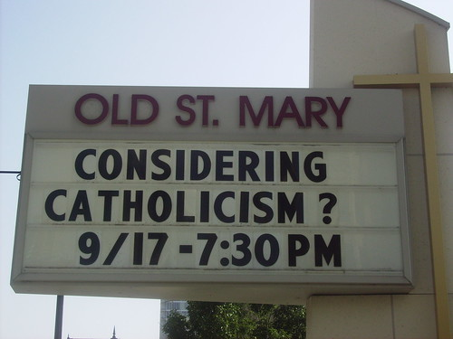 Considering Catholicism?