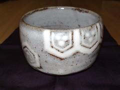 鼠志野茶碗