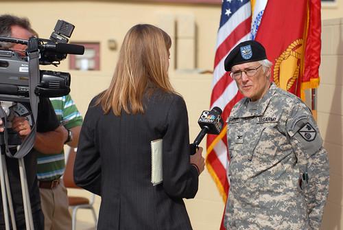 Veteran's Day Ceremony at POM