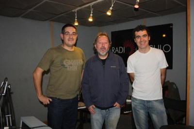 Con Juan Cervera de ROCKDELUX