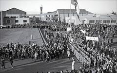 L'inauguration de Cinecitta par B. Mussoloni en 1937
