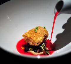 9th Course: Black Bean Tofu