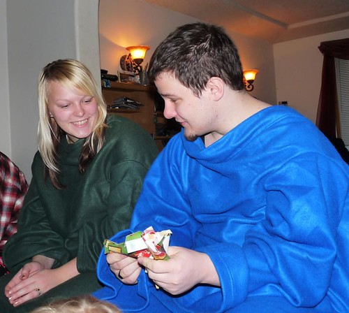 It was like a snuggie party!
