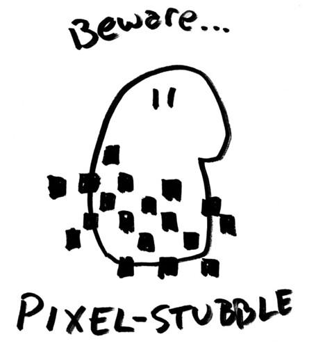 Pixel-Stubble