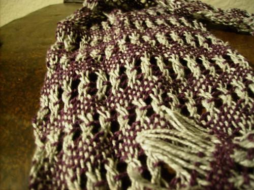 Leno Woven scarf 4.25.10