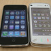 Nokia N97 and iPhone 3GS
