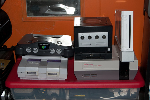 Nintendo Console  Collection (nearly) Complete