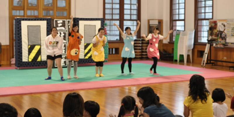 【Video】鐵支路邊創作體「三枝鉛筆」落地掃兒童劇(5.2ys)