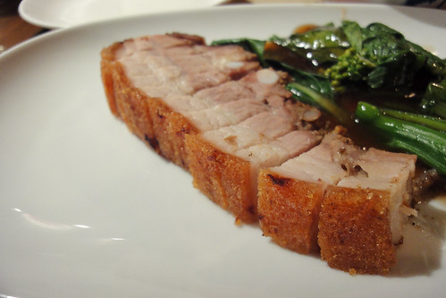 Roast pork belly