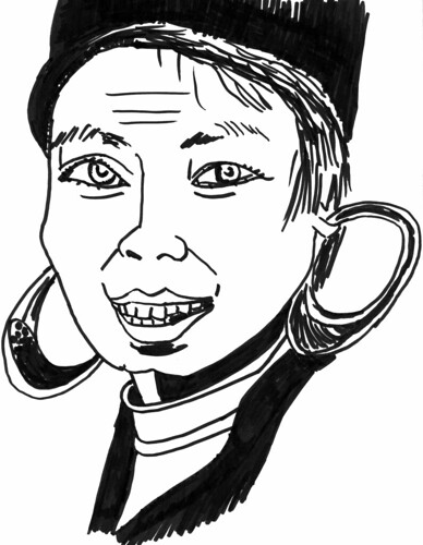 More caricature drawing practice