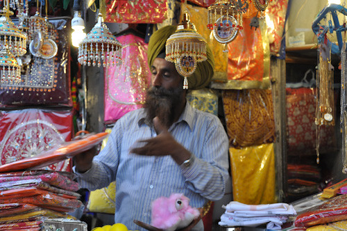 Punjabi salesman
