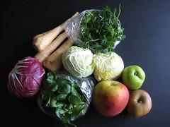 Aardvlo veggiebag week 49