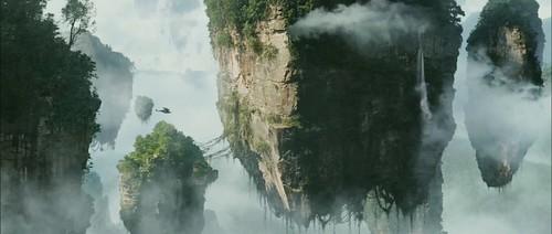 Avatar - Mountain in the sky (Cameron's Laputa)