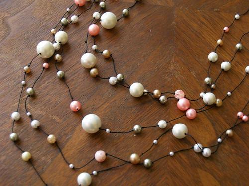 Necklace in progress