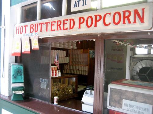 Hot Buttered E.W. Hobbs Popcorn