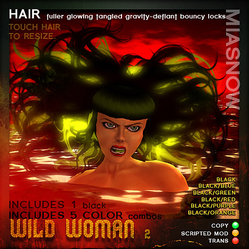 PRODUCT POSTER WILD WOMAN 2