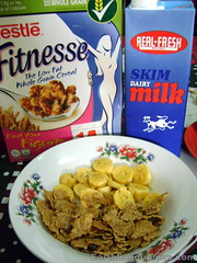 Nestle Fitnesse Original with banana