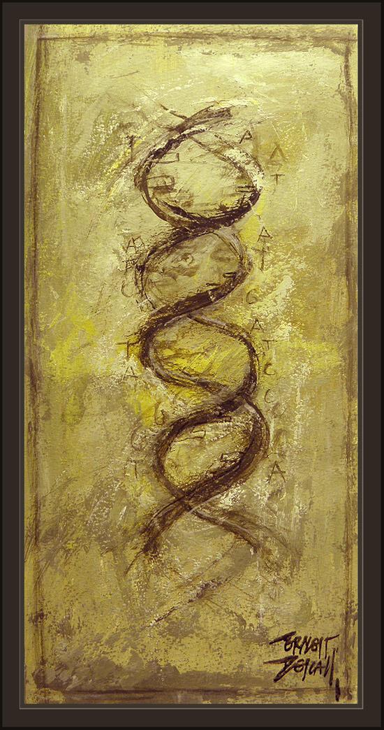ANUNNAKI-ANNUNAKI-DNA-ADN-GENETICA-GENETICS-NIBIRU-ERNEST DESCALS-PAINTINGS-PINTURAS-