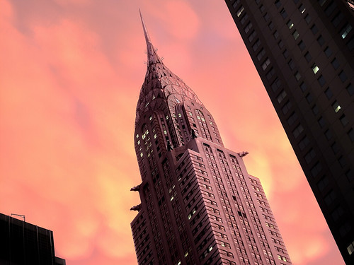 Chrysler building storm sunset 1 by you.