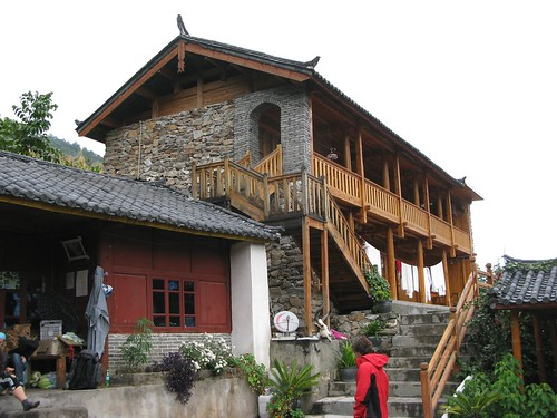 Guest house at Tiger Leaping Gorge.