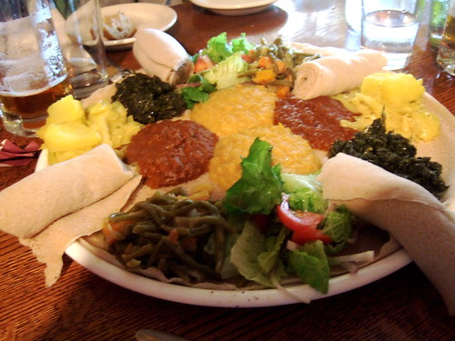 Ethiopian at Caboose Cafe