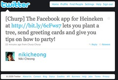 Twitter / Niki Cheong: [Churp] The Facebook app f ...