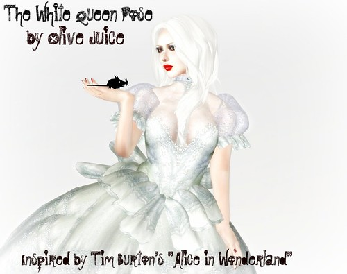 The White Queen Pose by Olive Juice