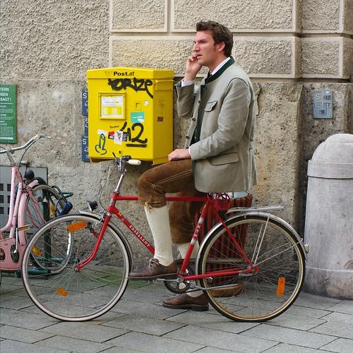 Salzburg Cyclist