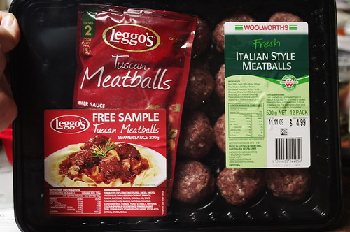 Leggo's Tuscan Meatballs meal was delicious and so easy to prepare