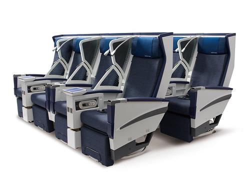 ANA New Premium Economy Seat
