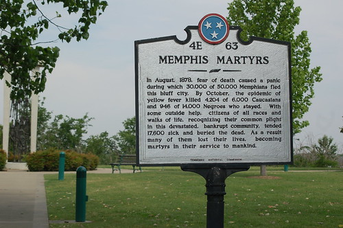 Memphis Martyrs Historical Marker