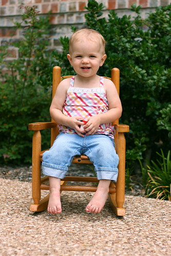 Rocking Chair -- 17 months old