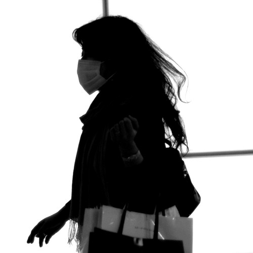 Ghost gone shopping [Shinjuku. Tokyo] a.k.a shopping ninja by e-chan