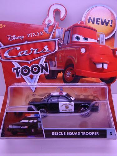 CARS Toons resque squad trooper