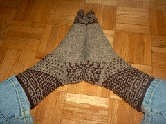 Miss Marple Mystery Socks 1