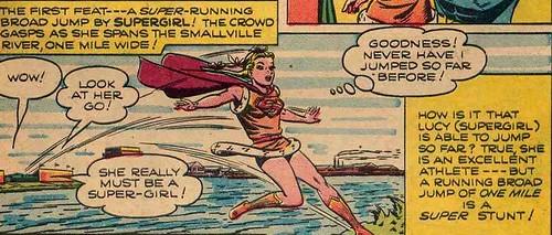 The Original Supergirl