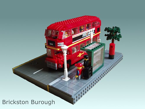 RalphS LEGO Routemaster and black cab