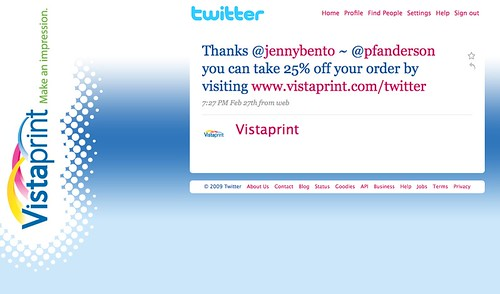 Tech - Zazzle vs Vistaprint Twitter Support Example 3