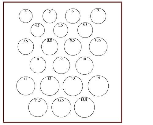 rings diameter