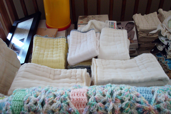 cloth diaper stash 90% complete!