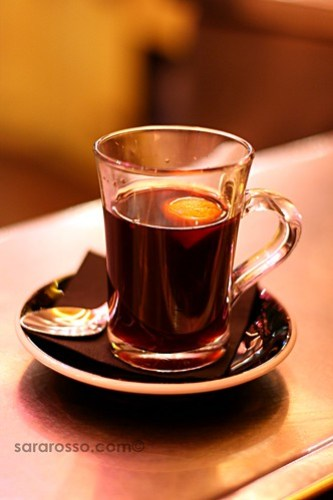 Vin Chaud - Mulled wine in Paris, France