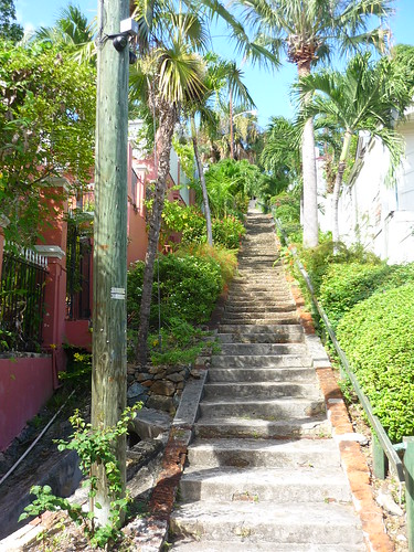 The 99 Steps, St Thomas