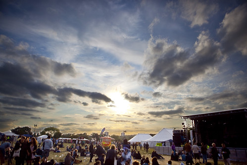 Offset Festival Sunset