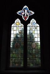 A window by Alan Younger, former student of LSL