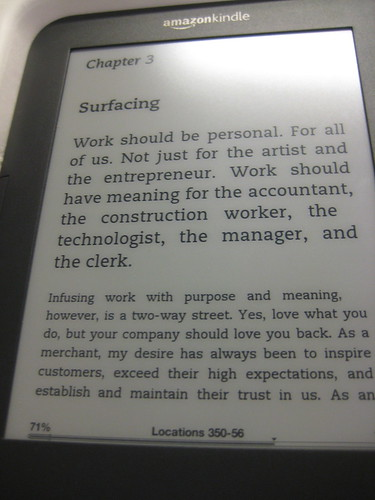 quote from Onward by Howard Schultz, kindle