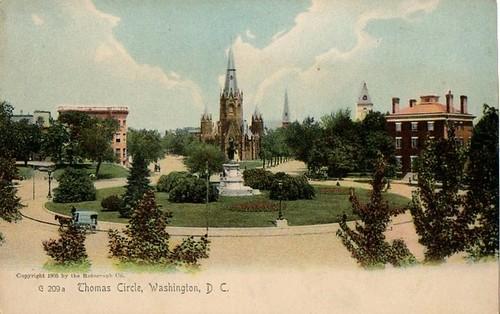 Thomas Circle 1905