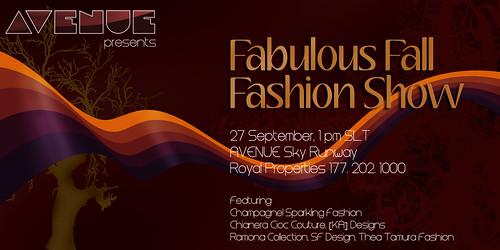 AVENUE Fabulous Fall Fashion Show