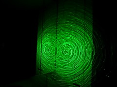 Green Laser Galaxy Wand
