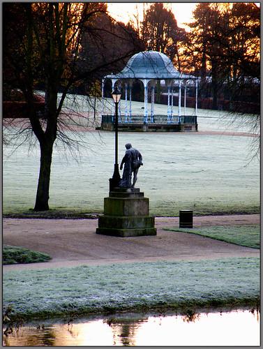 Frosty park